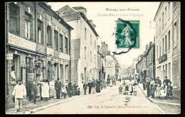 76 BLANGY SUR BRESLE / Grande Rue Et Caisse D'Epargne / - Blangy-sur-Bresle
