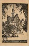 Bielefeld - Das Neue Rathaus Sign Kottenkamp - Bielefeld