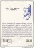 Document Philatélique Officiel De La Poste - Coupe Du Monde De Football - 28-04-1982 - Documentos Del Correo