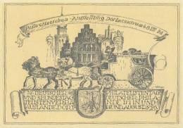 DR Privat-Ganzsache Minr. PP77/C6 I Postfrisch PWZ-Ausstellung Dortmund 4-8.8.1926 - Deutschland