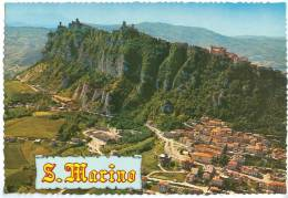 Republic Of San Marino, Air View Of The Titano Mountain, Unused Postcard [12059] - San Marino