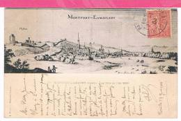 78 : MONTFORT L'AMAVLERY Montfort L'amaury , La Ville En L'an 1660 - Montfort L'Amaury