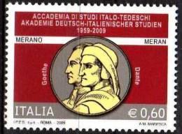 PIA - ITALIA - 2009 : 50° Dell' Accademia Di Studi Italo-Tedesca Di Merano  - (SAS  3088) - 2001-10:  Nuovi