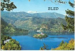 Slovenia, BLED, Panoramic View, Unused Postcard [12061] - Slovenia