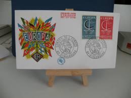 FDC - EUROPA  CEPT - 67 Strasboug - 24.9.1966 Coté 2 € (2013) - Europa-CEPT