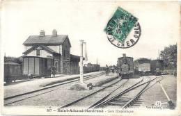 18 CHER  -  SAINT AMAND MONTROND  Gare économique (cliché Inconnu Sur Delcampe) - Saint-Amand-Montrond