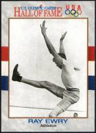 UNITED STATES 1991 - U.S. OLYMPIC CARDS HALL OF FAME # 13 - 1900 / 1904 / 1908 OLYMPIC GAMES - ATHLETICS - RAY EWRY - Autres
