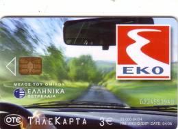 GRECE GREECE PETROL EKO KINITRON UT - Petrole