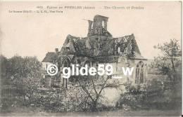 Eglise De PRESLES - The Church Of PRESLES - La Guerre 1914-17 - N° 682 - France