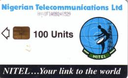NIGERIA PARABOLE NITEL 100U UT - Nigeria