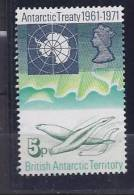 BritishAntarctica1971: Michel41mnh** - British Antarctic Territory  (BAT)