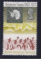 BritishAntarctica1971: Michel42mnh** - British Antarctic Territory  (BAT)