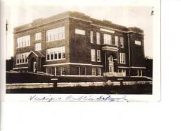 VERDIGRE (Nebraska - USA) - CPA - Public School ... Vac Randa Photo Kodak Finishing And Enlarging - Etats-Unis