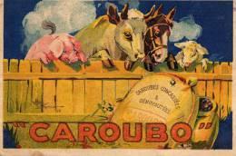 /34/  BEZIERS VILLA BEAUREGARD ALZIEU /PUBLICITE CAROUBO CHEVAL VACHE COCHON - Beziers