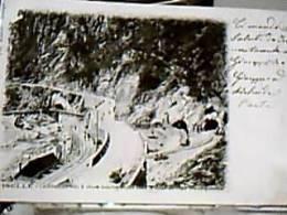 ISELLE TRASQUERA TRAFORO DEL SEMPIONE TUNNEL GALLERIE IMBOCCHI VB1900 DZ7127 - Aosta