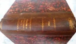 L' Année Scientifique Et Industrielle - Louis Figuier 1 8 8 4 Lib. Hachette Imp.A.Lahure 27°A  Mi-cuir [rare] - 1801-1900