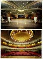 2 CPM - VERSAILLES (78) Palais Des Congrès De Versailles - Salle RICHELIEU Et Salle LULLI - Versailles