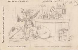 Commerce -  Café - Marin Colonial - Publicité Chaussure Notre Dame De Lorette Paris - Caffé