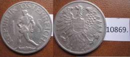 Austria 1 Chelin 1947 - Monedas