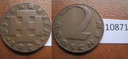 Austria 2 Groschen 1925 - Monedas