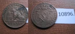 Belgica 1 Centimo 1887 , Flamenco - Monedas