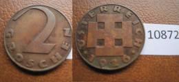Austria 2 Groschen 1926 - Monedas