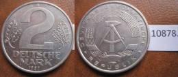 Alemania Comunista , RDA , DDR , 2  Marcos 1957 A - Monedas
