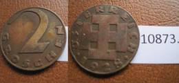 Austria 2 Groschen 1928 - Monedas
