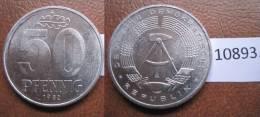 Alemania Comunista , RDA , DDR , 50 Pfennig 1982  A - Monedas