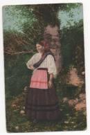 PORTUGAL- «Mulher De Trajes Regionais». (2 Scans)-Escrito 20/12/1904. - Unclassified