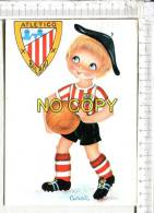 ATLETICO   BILBAO  -  Footballeur  En Tenue - Illustration - Voetbal