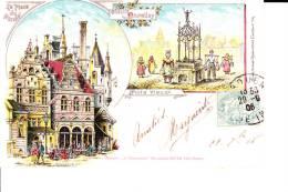 CPA 1906  : Vieux Bruxelles : La Place Du Marché , Puits Vieux - Marchés