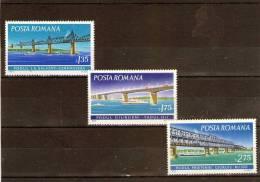 1972 - PONTS  Yv No 2694/2696 Et Mi No 3031/3033 MNH - 1948-.... Republiken