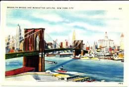 NEW YORK CITY - Brooklyn Bridge And Manhattan Skyline - Non Classificati
