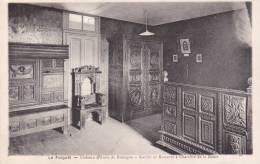 Cp , 29 , LE FOLGOËT , Château D'Anne De Bretagne , Chambre De La Reine - Le Folgoët