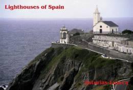 Lighouses Of Spain - Asturias/Luarca Postcard Collector - Faros