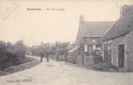CPA - DENNEVILLE - Rue De La Plage - Frankrijk