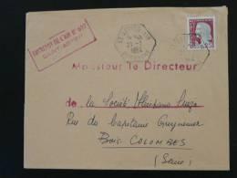 Lettre Oblitération Saint Astier Air Dordogne 1964 - Poststempel (Briefe)