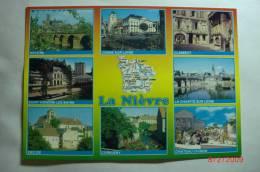 D 58 - Nevers, Cosne Sur Loire, Clamecy, St Honoré Les Bains, La Charité Sur Loire, Decize, Corbigny, Château Chinon - France