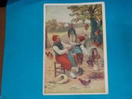 Militaire ) Bon Point Patiotiques - 1914/1915 - Un Conscrit  - EDIT - Verger - Vieux Papiers