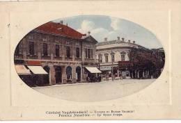 AK UNGARN  HUNGARY  NAGYKIKINDA  FERENC JOZSEF TER ,RADAK JANOS, OLD POSTCARD - Ungarn