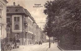 AK UNGARN  HUNGARY SZEGED , BATTHYANY -UTCA OLD POSTCARD 1916 - Ungarn