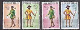 D0302 - TOGO Yv N°807/08 + AERIENNE ** FOLKLORE COSTUMES ARTISANAT - Togo (1960-...)