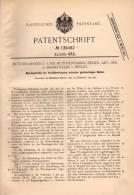 Original Patentschrift - Motorenfabrik AG In Marienfelde B. Berlin , 1901 , Wendegetriebe Zur Kraftübertragung !!! - Voitures