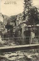 AX-LES-THERMES-Passerelle Sur La Lauze - Ax Les Thermes