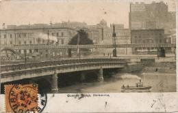 Melbourne  Queens Bridge P.  Used 1904  Train To St Nazaire Aude France - Melbourne