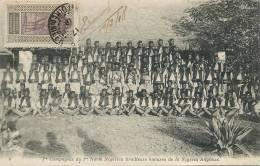 1re North Nigerien Company Tirailleurs Haoussa British Nigeria No 6 Stamped Not Used - Nigeria