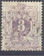 Dq773: N°29: Puntstempel: 283: OSTENDE... Zegel Iets Verdund... - 1869-1888 Lying Lion