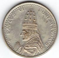 MEDAILLE, PAULUS VI, PONT MAXIMUS, ANNO SANTO 1975 ROMA. (MN 20) - Italie