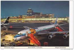 KLM Jet Airplane, Airport , Montreal , Quebec , Canada , 1977 - 1946-....: Modern Era